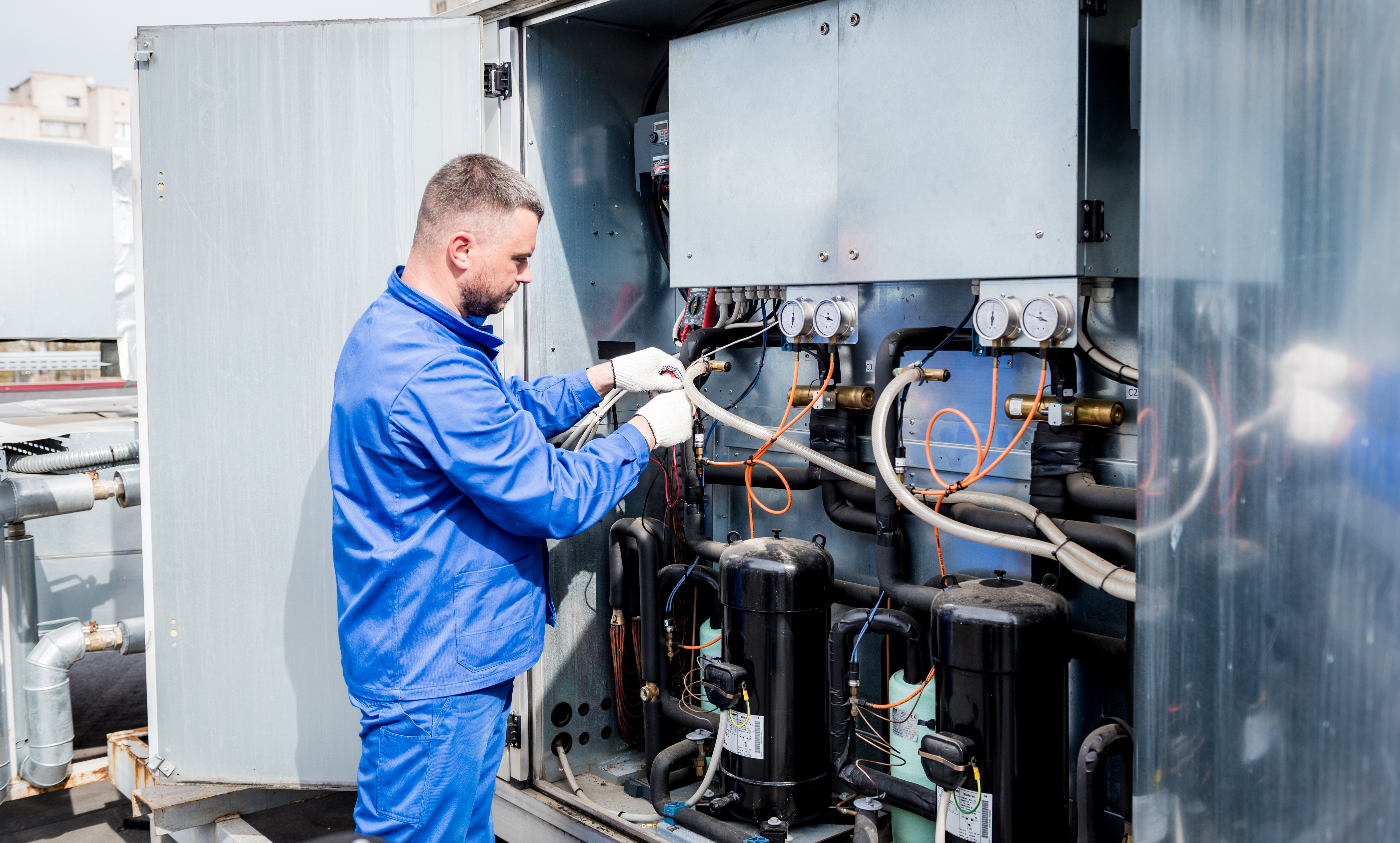 Commercial HVAC Repair Dallas Fort Worth Texas Protocall